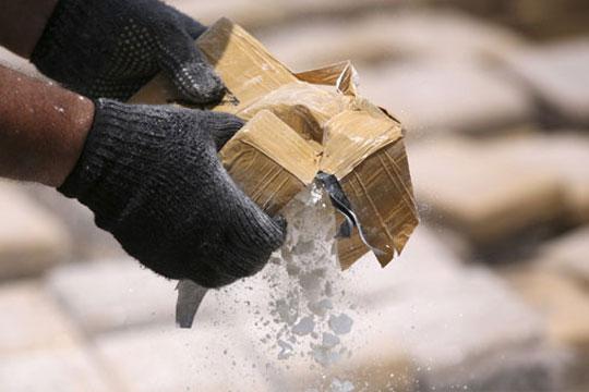 Повеќе од тон кокаин запленет во Колумбија