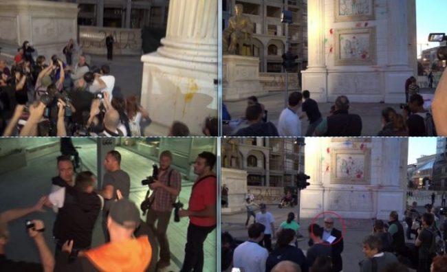 Хулиганите на Заев во очај почнаа и физички да се пресметуваат