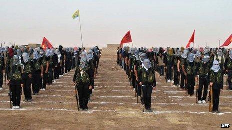 ОН го отфрлија предлогот за вклучување на Курдите во преговорите за Сирија