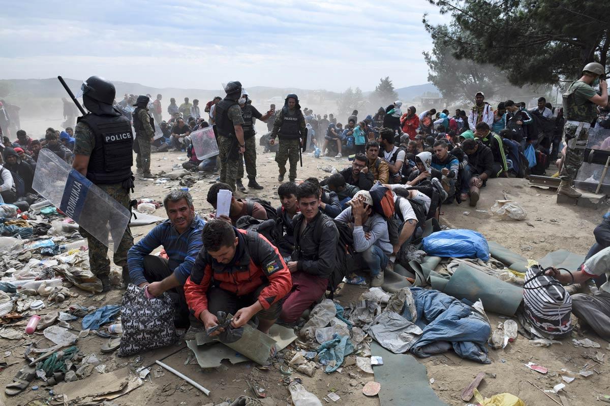 Нема веќе бегалци во кампот кај Идомени