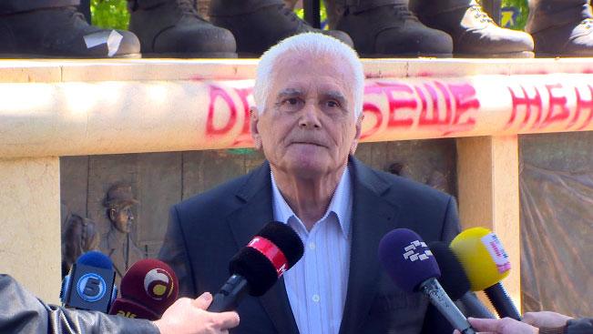 Милан Солаков, претставник на Здружението на борци од НОБ