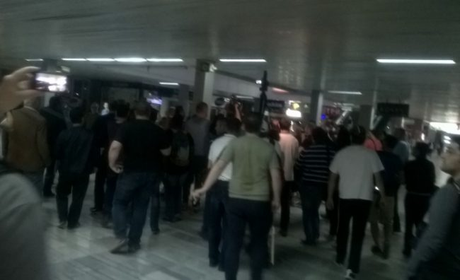 Хулиганите на Заев повторно со насилства