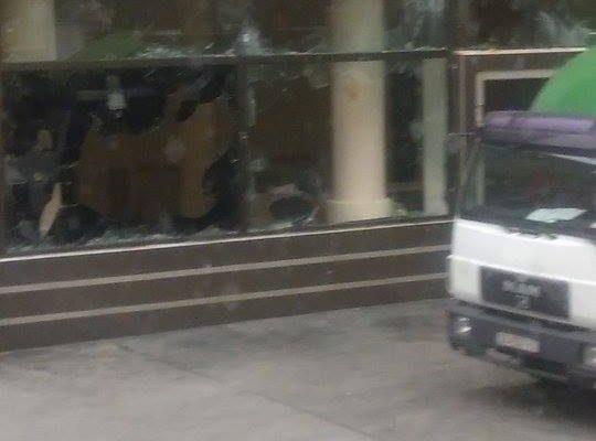 Канцеларијата на Претседателот на РМ по насилните протести