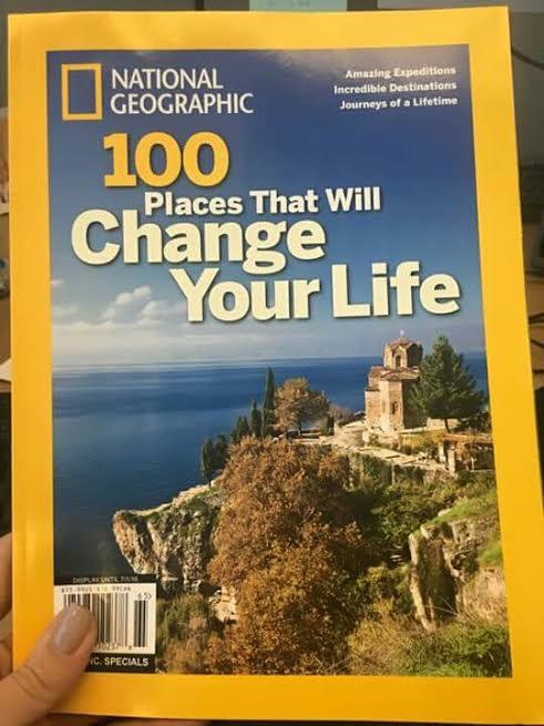 """ФОТО: Убавините на Охрид на насловната на """"Национална Географија"""""""