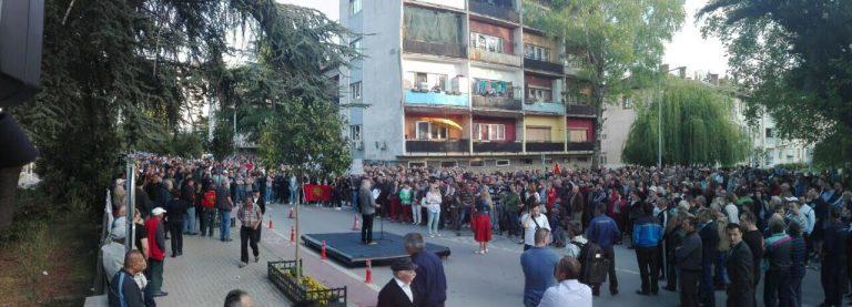 Охриѓани со пораки за избори на 5 јуни и конечен крај на кризата  (ФОТО)