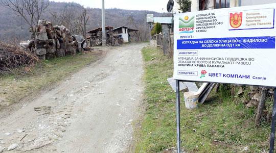 Три патни правци се градат во Крива Паланка