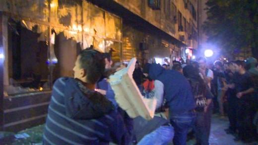 """""""Република"""": Медиумските платеници во насилството гледаат """"урбан протест"""""""