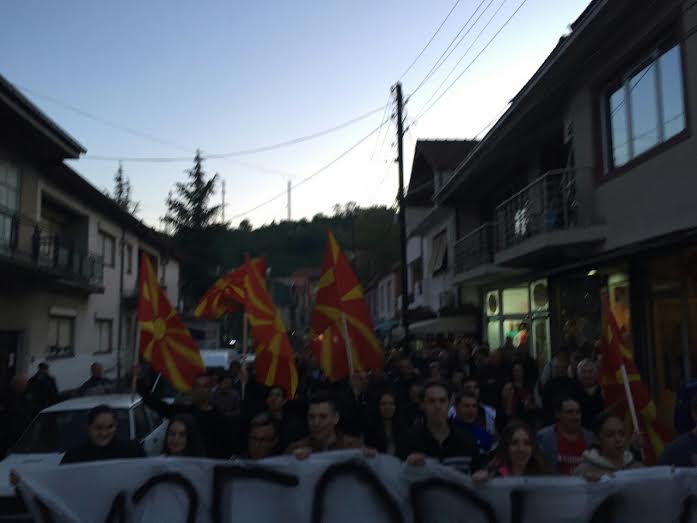 Радовишани со порака: Македонија не ја оставаме да ја распарчи Заев, избори на 5 јуни