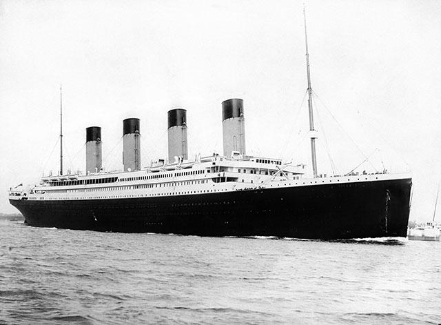 На денешен ден пред 104 години потона Титаник