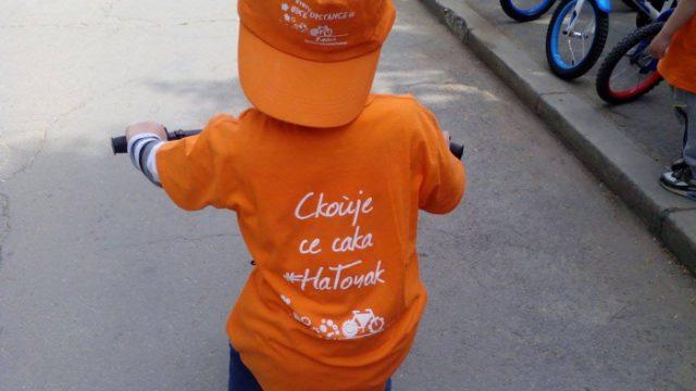 """""""Скопје се сака на точак"""" порачаа дечињата од детската градинка """"Детска радост"""""""