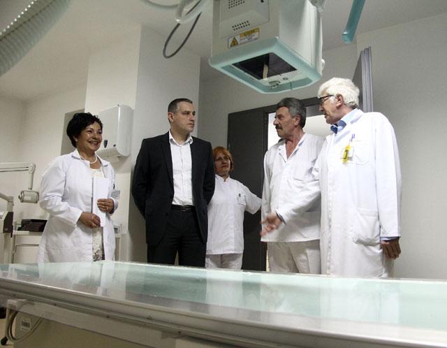 Комплетно реновирана Здравствената станица Железара  (ФОТО)