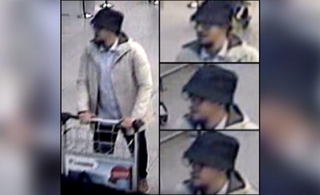 Фотографии од надзорните камери од третиот напаѓач на аеродромот во Брисел