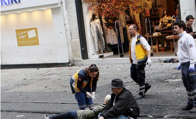 Десет лица се повредени во самоубиствен бомбашки напад во Турција