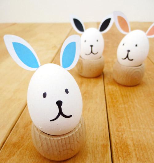 Велигденски јајца без боја