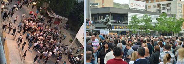 ФОТО: ГДОМ во Велес осум пати поброен од СДСМ