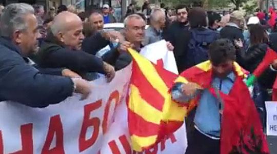 Во Велес мирен протест на ГДОМ