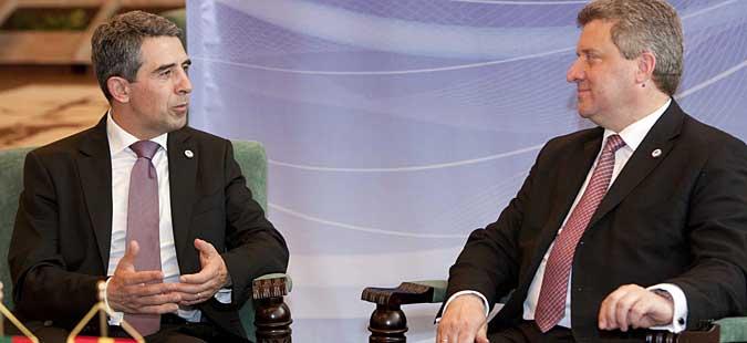 Иванов и Плевнелиев задоволни од напредокот во преговорите за Договорот за добрососедство