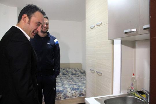 """Ристовски: Реновирањето во студентскиот дом """"Гоце Делчев"""" со одлична динамика"""