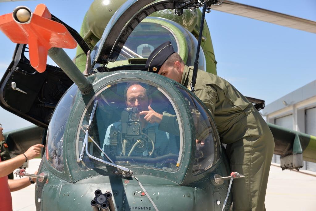 Центарот за обука на пилоти ги отвори вратите за јавноста