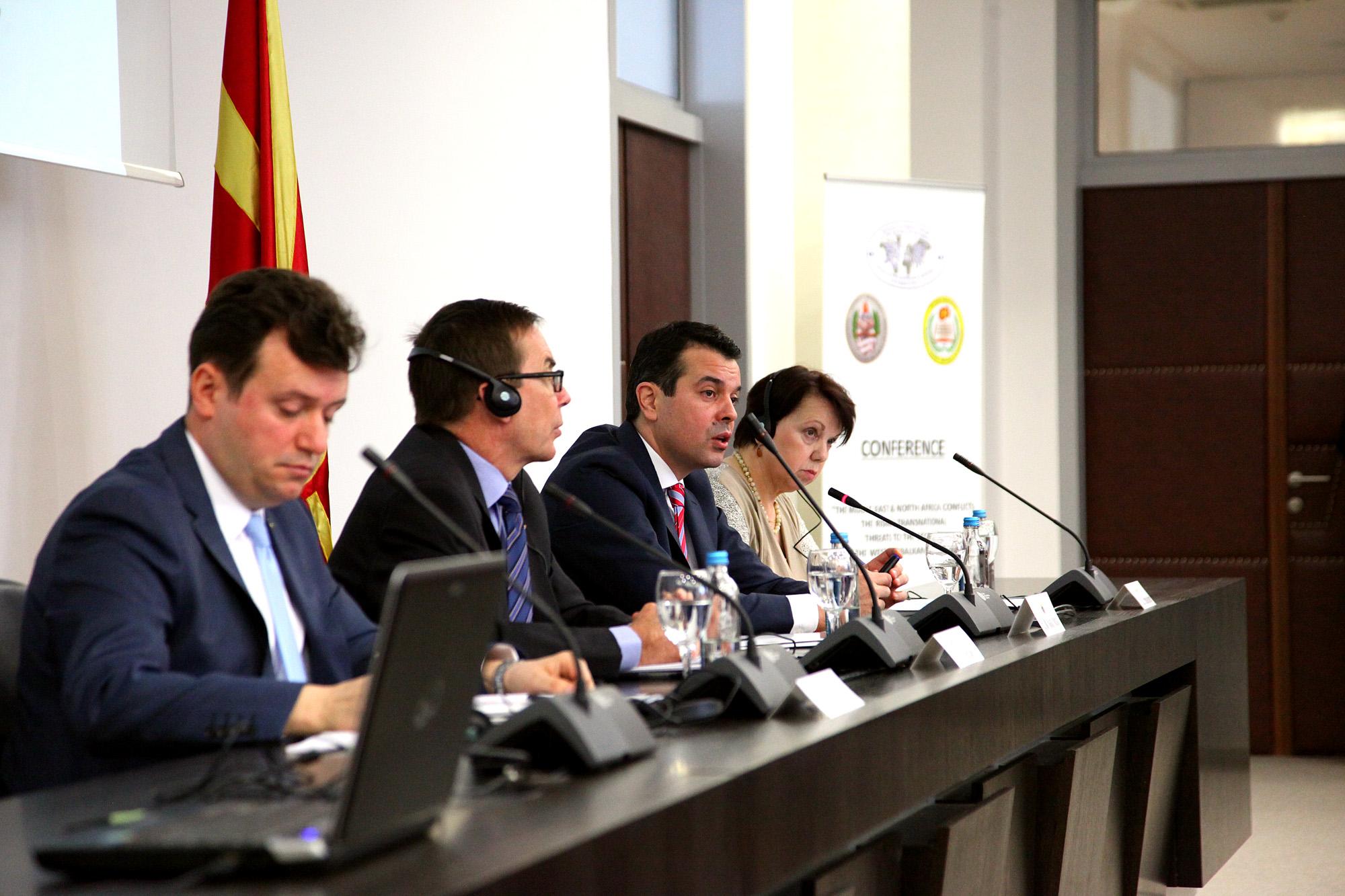 Обраќање на МНР Попоски на Конференција во МНР