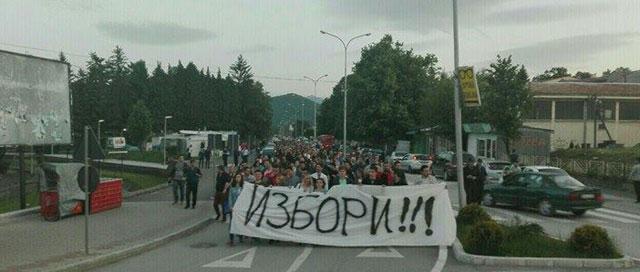 ФОТО: Кичевчани побараа избори