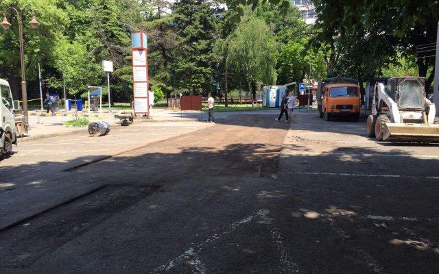 Rekonstrukcija na parking kaj Gradska bolnica (2)