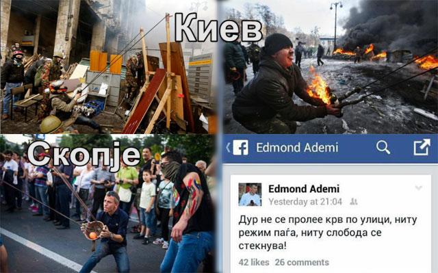 ФОТО: Поранешниот советник на Оливер Спасовски во украинско сценарио