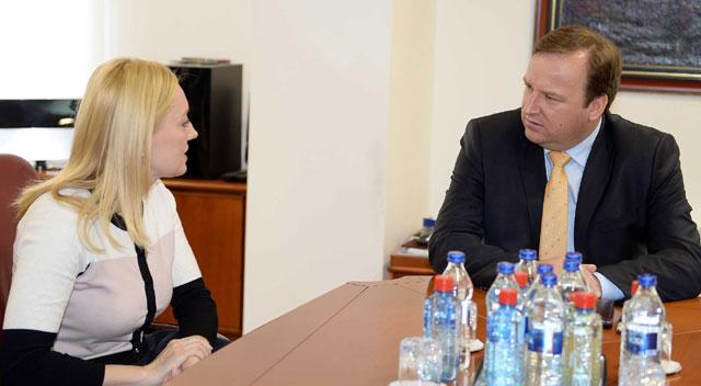 Средба Димитриев-Петир: Демократско право е граѓаните да одлучуваат на фер и кредибилни избори