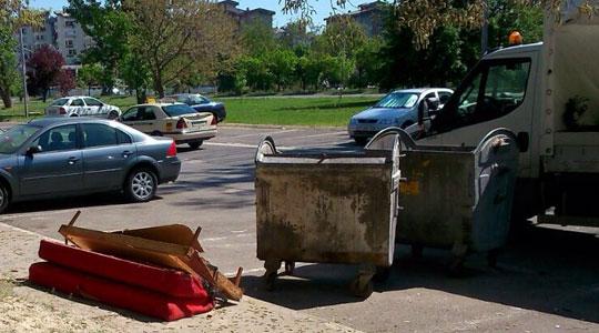 Aкција за собирање кабаст отпад во Аеродром