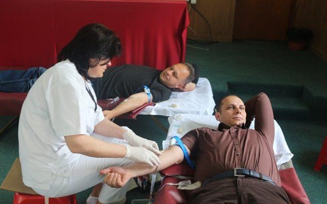 Крводарителска акција во општина Кисела Вода