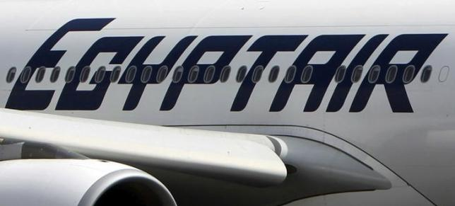 An EgyptAir plane is seen on the runway at Cairo Airport, Egypt in this September 5, 2013 file photo. REUTERS/Mohamed Abd El Ghany/File Photo
