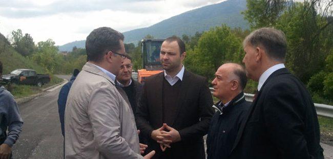 Шест милиони евра за обнова на регионалниот пат Битола-Ресен-Буково