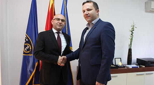 Чавков ја презеде должноста од Спасовски