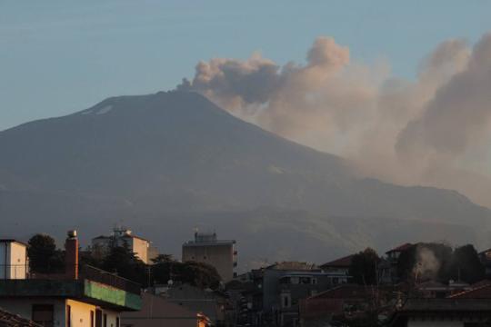 Нова ерупција на вулканот Етна