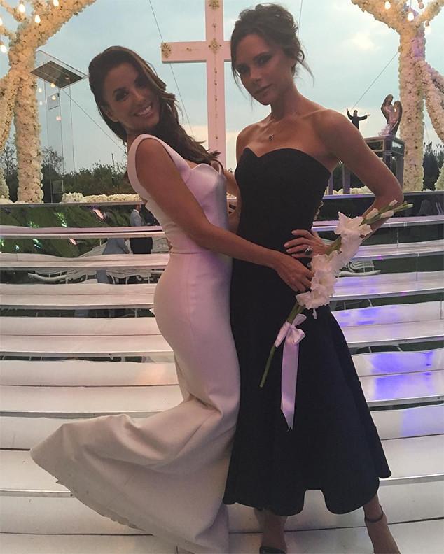 Ева Лонгорија и Викторија Бекам на венчавката