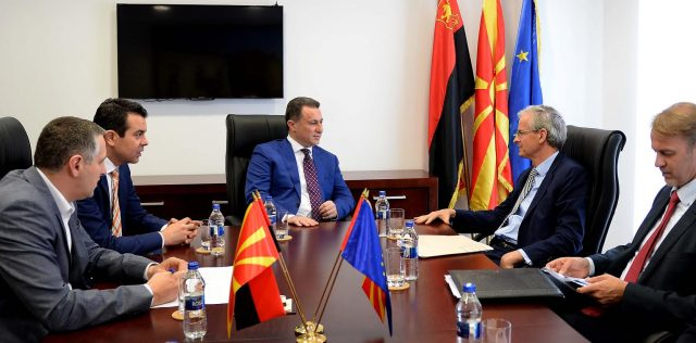 Средба Груевски-Даниелсон: Решенијата важни за државата треба да се базираат на волјата на граѓаните
