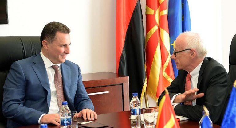 Груевски оствари средба со Хајндл
