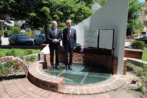 ФОТО: Холандскиот амбасадор во посета на Охрид  – Градот е безбедно место за сите туристи