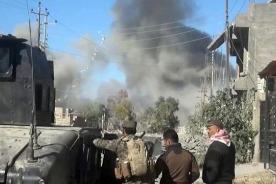 """Битка за Фулуџа: ИД ги држи цивилите како """"жив ѕид"""""""