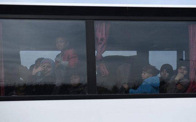 Преселување на бегалците од Идомени