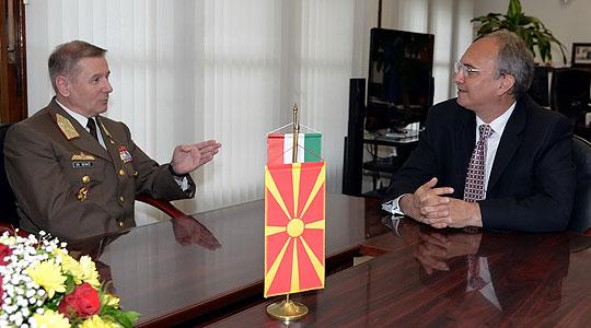Јолевски-Бенко: Унапредување на соработката меѓу Македонија и Унгарија