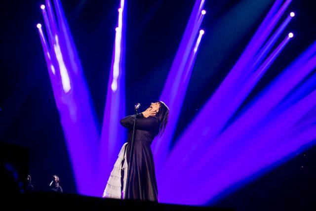 """ВИДЕО: Калиопи со маестрална изведба на """"Дона"""" во Стокхолм"""