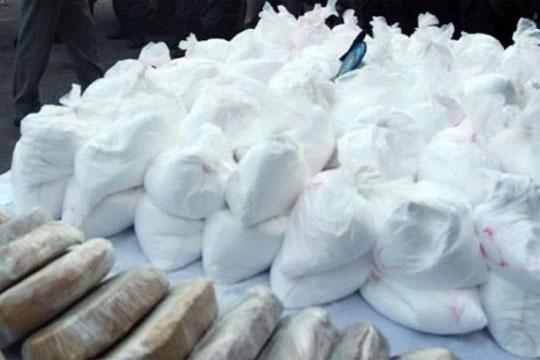 Во Колумбија запленети осум тони кокаин