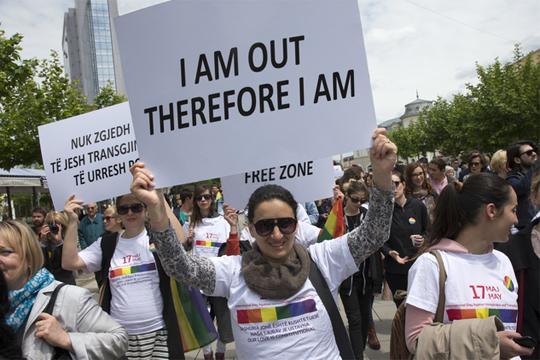 Во Приштина се одржа геј парада