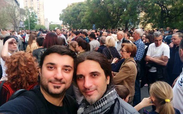 Петрит Сарачини и Марјан Забрчанец