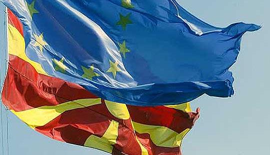 Планинарски марш на Водно за Европскиот ден на знамето