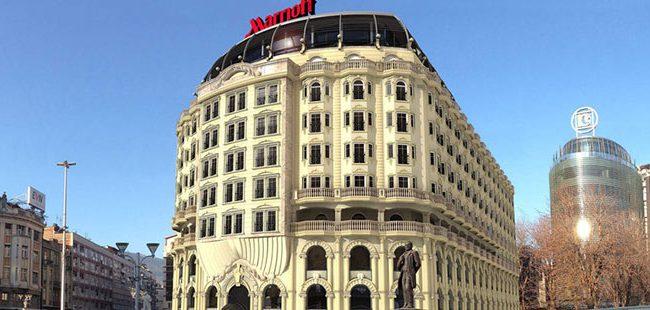 """Хотелот """"Скопје Мериот"""" ги отвори вратите за гости"""