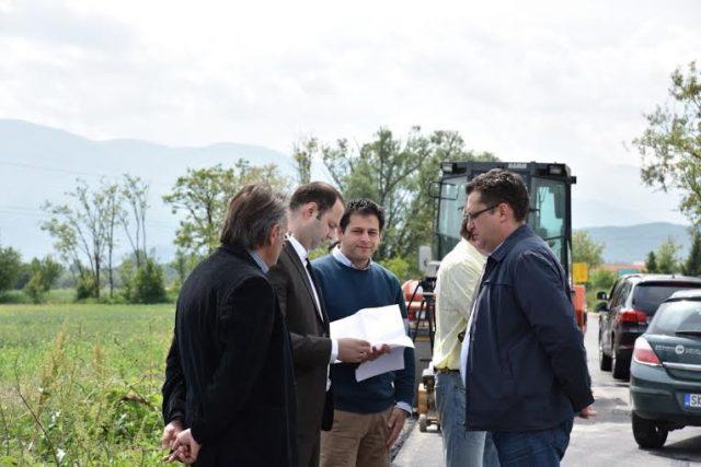 Привршува реконструкцијата на патот Тетово- Брвеница- Гостивар, инвестиција вредна 1,8 милиони евра