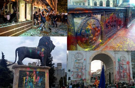 Колку ја чини државата вандализмот на СДСМ и Сорос?