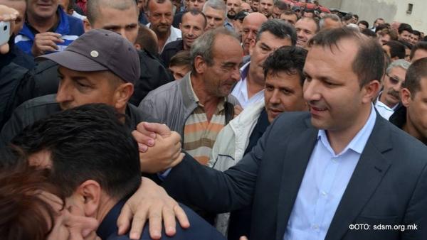 """""""Курир"""": Спасовски почна, а активисти на СДСМ го следат во омаловажувањето на хероите од Диво Насеље"""